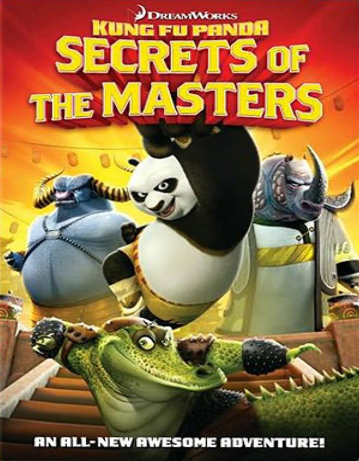 Kung Fu Panda Secrets of the Masters