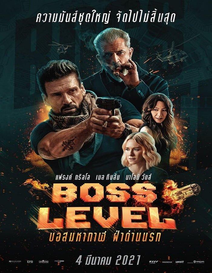 Boss Level (2020) บอสมหากาฬ ฝ่าด่านนรก