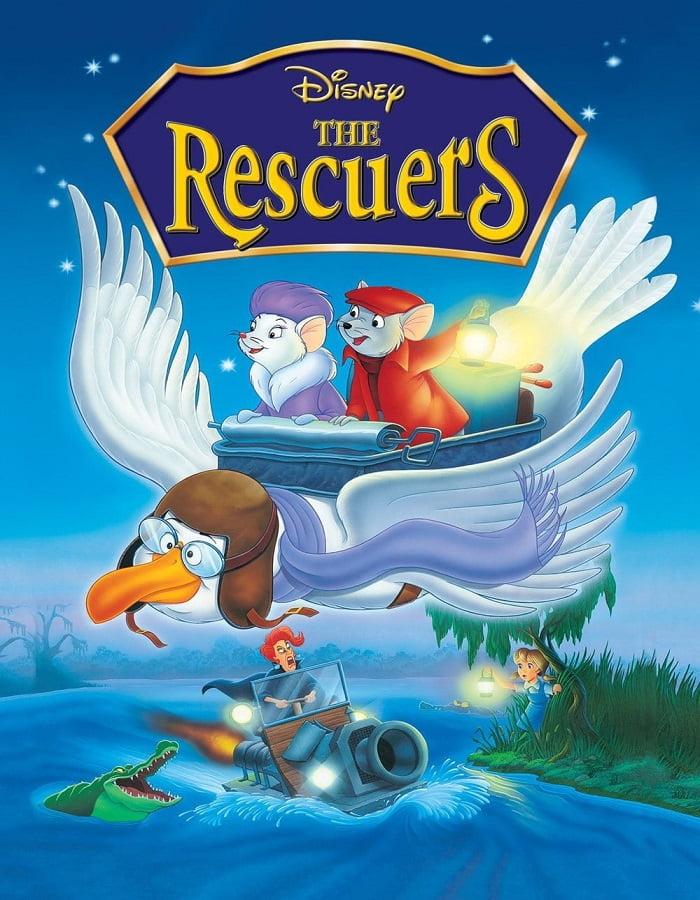 The Rescuers 1977 หนูหริ่ง หนูหรั่ง ผจญเพชรตาปีศาจ
