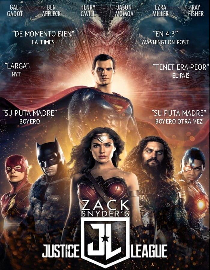 Zack Snyders Justice League 2021 แซ็ค สไนเดอร์ จัสติซ ลีก