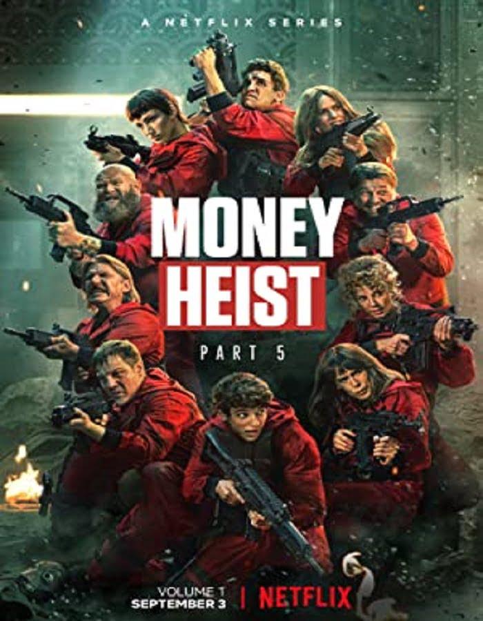 Money Heist Season 1 2017 ทรชนคนปล้นโลก