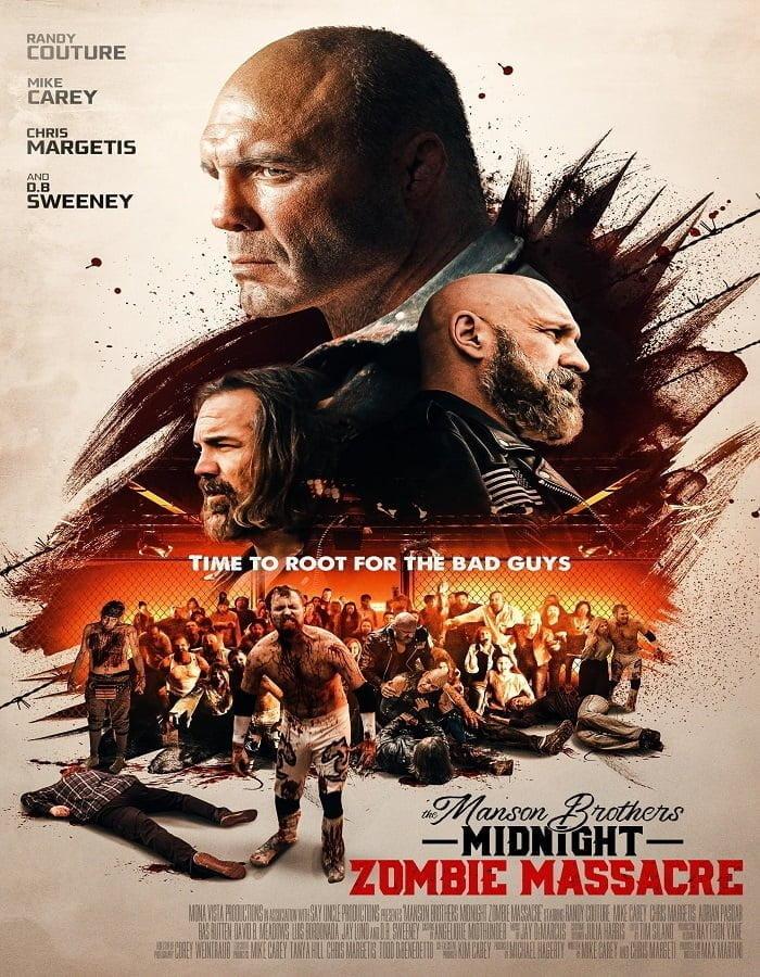 The Manson Brothers Midnight Zombie Massacre 2021