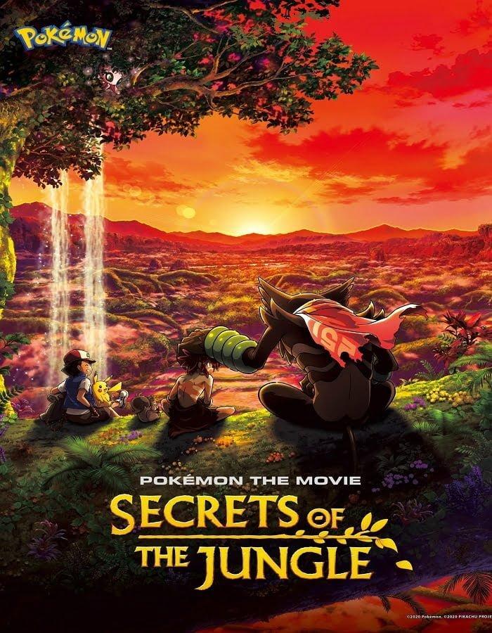 Pokemon the Movie Secrets of the Jungle 2020 โปเกมอน เดอะ มูฟวี่ ความลับของป่าลึก